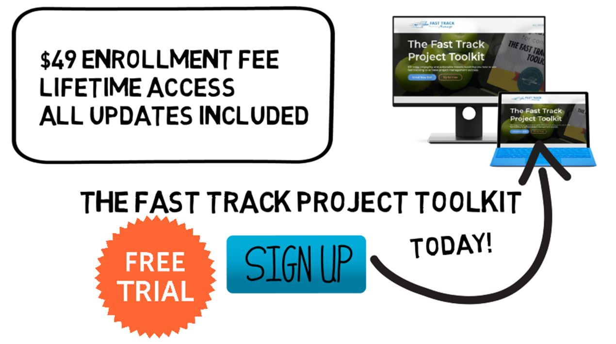 The Fast Track Project Toolkit | Project Management Course